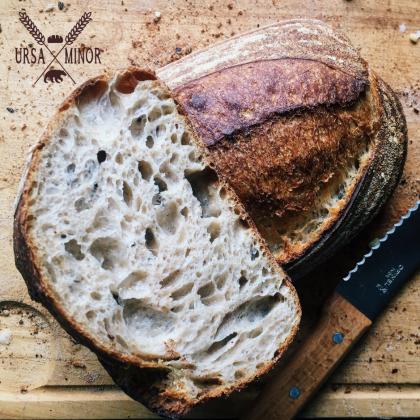 Bread Loaf on Board