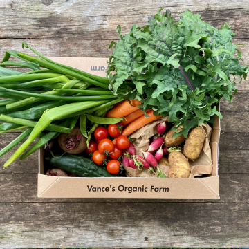 Large Veg Box on Table