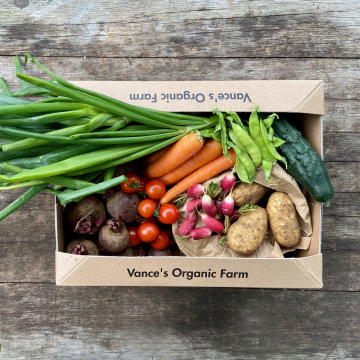 Small Veg Box on Table